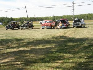 Old Vehicles on Display